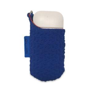 Porta IQOS da cintura color blu elettrico
