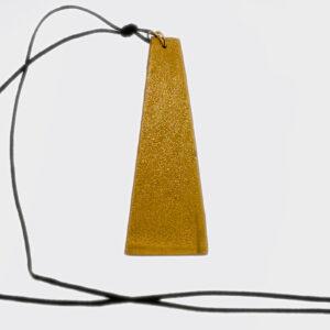 Collana piramide alta oro